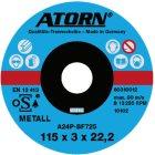 Trennscheibe für Metall Ø 115x3 mm Universal