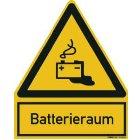 PWZBR Warnzeichen Batterieraum