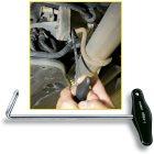 Abgasanlagen-Werkzeug 4684-1 · l: 209 mm