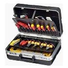 Werkzeugkoffer ABS-Kunststoff schwarz