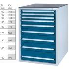 Werkzeugschrank System 800 S, Modell 32/9 GS -