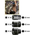 Bremssattel TORX® Einsatz 2871-E18 · E 18 ·  Außen-Sechskant 22 mm · Außen TORX® Profil · l: 39.5 mm