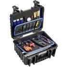 B + W Werkzeugkoffer JET 3000 aus Polypropylen schwarz Innenmaße 329 x 233 x 152 mm 55481670