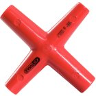 Isolierter Kreuzschlüssel, 10x11x13x17mm 117.1702