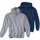 2er Pack Kapuzensweatshirt marine/grau Größe 4 (XL)