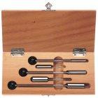 Sacklochmagnete 5-teilig im Holzkasten