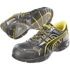 Puma Safety Pace Black Low Sicherheits-Halbschuhe S3 HRO EN ISO 20345 schwarz gelb   43