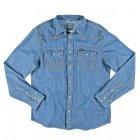 Wrangler  Jeanshemd blue bleached | M