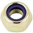Sechskantmutter selbstsichernd n.  Form DIN 985 Stahl I8I gelb verzinkt