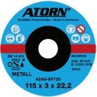 Trennscheibe für Metall Ø 115x3 mm Spezial Scheibe
