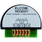 ELCOM RED622Y Videoverteiler 2-fach 2Draht UP