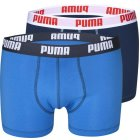 Puma Retroshorts 2er Pack blau marine | M