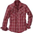 Vernal Hemd rot schwarz | 3XL