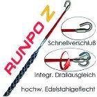 RUNPOTEC 20274 RunpoZ 9-15mm Kabelziehstrumpf