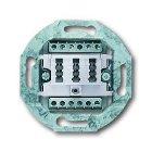 BUSCH-JAEGER 0242/04 TAE-Anschlussdose 2x6/6 NFF alpi