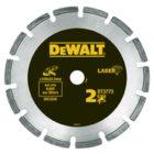 Lasergeschweißte Diamant-Trennscheibe: DT3772 ementgebundene Materialien / Beton 180mm Ø - Trock