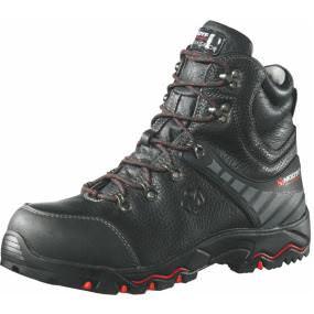 Sicherheitsstiefel S3 FLEXITEC® Trek schwarz/rot Gr. 41