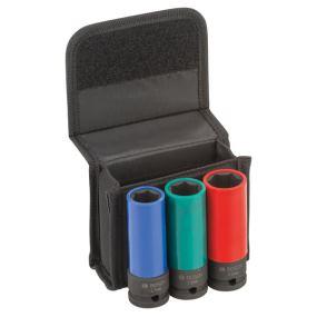 Steckschlüsseleinsätze-Set, 3-teilig, 77 mm, 17 -