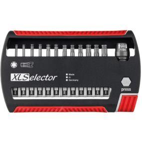 Bit-Box XLSelector 1/4 Inch E 6,3 13-teilig PH,PZ