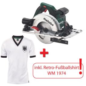 Handkreissäge KS 55 FS inkl WM-Shirt