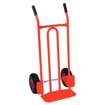 Transport-Stapelkarre mit Luftbereifung, 300kg