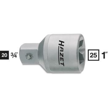 Adapter 1158-2 · Vierkant hohl 25 mm (1 Zoll) · Vierkant massiv 20 mm (3/4 Zoll) · l: 70 mm