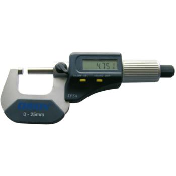 Bügelmessschraube 75 - 100 mm im Etui elektronisc