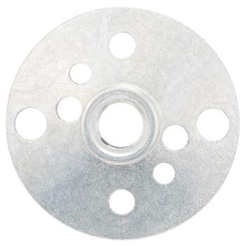 Rundmutter mit Flanschgewinde M 10, Durchmesser: 1