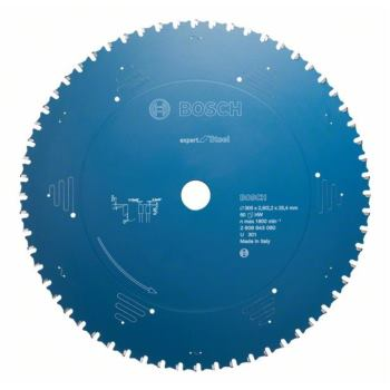 Kreissägeblatt Expert for Steel, 355 x 25,4 x 2,6 mm, 80