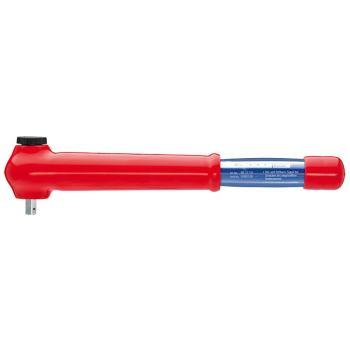 Drehmomentschlüssel mit Außenvierkant, umsteckbar 385 mm