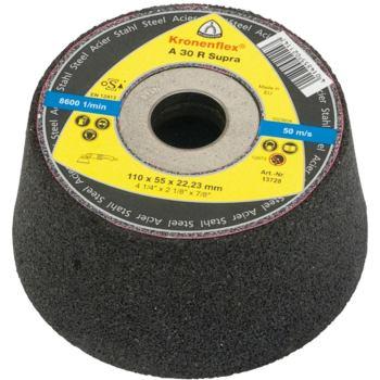 Schleiftopf, SUPRA, A 30 R Abm.: 110x55x22,23 mm