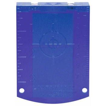 Zieltafel Laserzieltafel (blau)