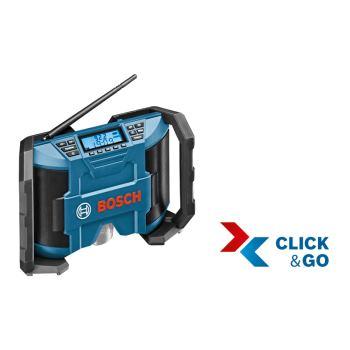 Radio GML 10,8 V-LI / GPB 12V-10, (ohne Akku/ohneLadegerät), L-BOXX