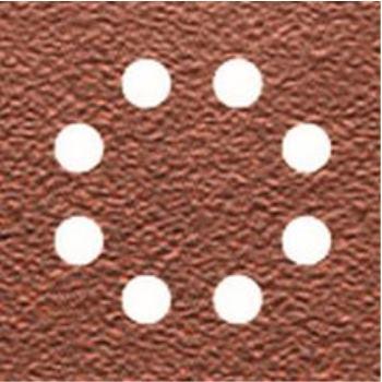 Schleifpapier-Klettfix 115 x 115mm K80, DT3032 Holz/Farbe - Trockenschliff - gelocht (8 Loch ring