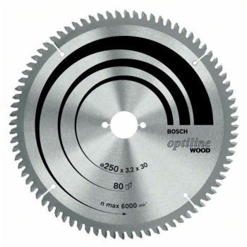 Ø 254 x 30 x 3,2mm Kreissägeblatt für Holz Kapp & Gehrungssäge