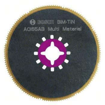 Segmentsägeblatt AOI 65 AB, Multi Material, BIM-Ti
