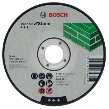Trennscheibe gekröpft Standard for Stone C 30 S BF