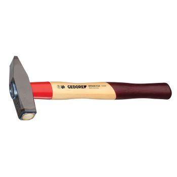 Schlosserhammer ROTBAND-PLUS mit Hickorystiel, 800 g