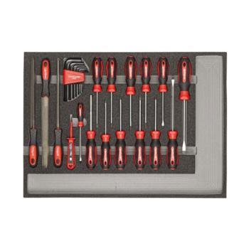 Werkzeugsatz Schraubendreher und Feilen