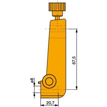 Messeinsatzträger für Messeinsätze CAPAX 2000