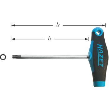 TORX® Schraubendreher 828-T27 · T27 · Innen TORX®Profil