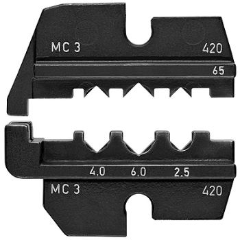 Crimpeinsatz für Solar-Steckverbinder MC3 (Multi-C ontact)