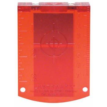 Zieltafel Laserzieltafel (rot)