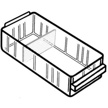 Schubladen transparent 41 x 67 x 153 mm Typ 150-0