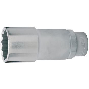 Steckschlüsseleinsatz 15mm 3/8 Inch DIN 3124 lang