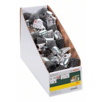Pinselbürste für Bohrmaschinen, gewellter Draht, 2
