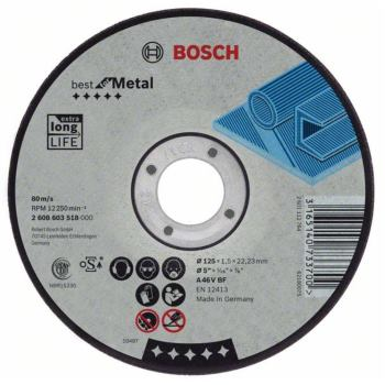 Trennscheibe gekröpft Best for Metal A 30 V BF, 18