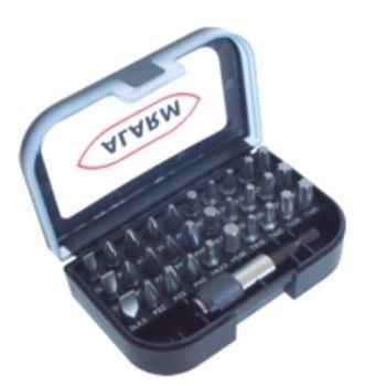 "Bits-Box 31-teilig ""black edition"""