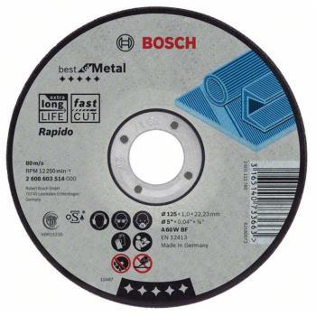 Trennscheibe gerade Best for Metal - Rapido A 60 W