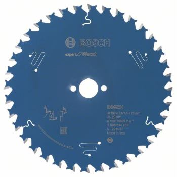 Kreissägeblatt Expert for Wood, 190 x 30 x 2,0 mm,40